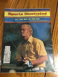 FM4-32 Sports Illustrated Magazine 3-8-1971 Jack Nicklaus Golf