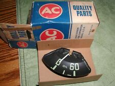 NOS AC 1954-1955 1st Series CHEVY Oil Gauge Chevrolet TRUCK Panel Suburban GM