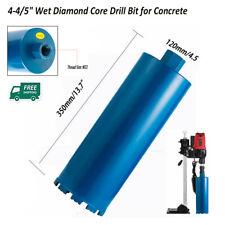 "4-4/5"" Wet Diamond Core Drill Bit for Concrete - Premium Grade Blue Series Us"