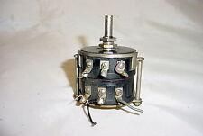 Colvern Wire Wound Dual Potentiometer - wirewound, 160 Ohms & 16K Ohms
