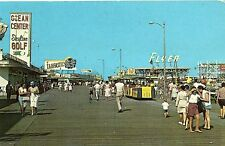 Skyline Golf & Tram Car on Boardwalk in Wildwood by the Sea NJ 1964