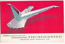 [60874] 1958 FORD 4-PASSENGER THUNDERBIRD SALES BROCHURE
