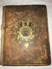 Vintage German Language Bismarct~Dentmal Deusche Dolf The Werner Company 1898