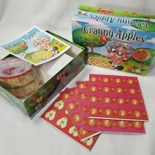 Granny Apples Uncut  Game 2005 Gamewright Counting Apple Dice Unsealed Complete