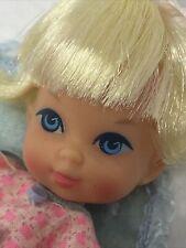 Vintage Liddle Diddle Baby Kiddle in Pajamas Doll & Blanket