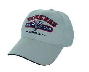New! New York Yankees Adjustable Back Hat Embroidered Cap - Khaki