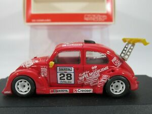 MINISTAR 1:43 Scale VOLKSWAGEN BEETLE FUN CUP #28, VW ENDURANCE RACE CAR, #022