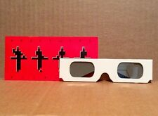 Kraftwerk 3D Concert 2014 pair of 3D glasses - NEVER USED