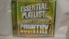 Essential Playlist 20 Non-Stop Hits Country 2009 Madacy Entertainment     cd1184