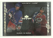 Wayne Gretzky   Ray Bourque      2000-01 Upper Deck MVP Excellence     Rangers