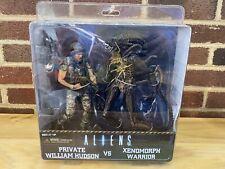 NECA Private William Hudson vs Xenomorph Warrior Marine Aliens