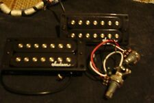 7 string pickup/ humbucker set ,with volume and tone pots, from Jackson