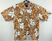 Liquid Culture Men's Hawaiian Shirt Floral Design Size 2XL Exclusive Vintage 90s