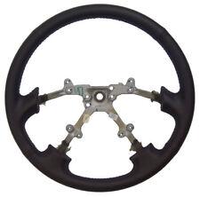 1996-1999 Fits Subaru Legacy Steering Wheel Black Leather New OEM 4 Spoke Wheel