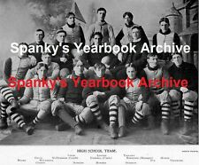 1897 Grand Rapids High School Yearbook~Photos~History~Football~Humor~Local Ads