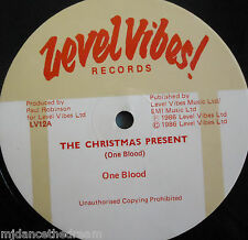 """ONE BLOOD - The Christmas Present ~ 12"""" Single"""