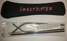 Sweetbitter STARZ SEASON 2 2019 OFFICIAL PROMO STAINLESS STEEL STRAWS + ZIP CASE