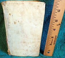 RARE 1791 BOOK- HISTORY OF ROME by LIVY - LIVII ROMANAE HISTORIAE - VELLUM LATIN