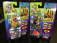 Mini Mad Wheelz Two 2 packs LOT new NIP MOC Pizza Shredder Motor Mouth car mana