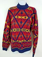 Babette and Partners Vintage Tribal Pattern Vintage Women's Sweater M USA