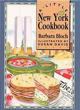 A LITTLE NEW YORK COOKBOOK BARBARA BLOCH ETHNIC & VENDOR FOOD LINDY'S CHEESECAKE