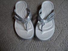 Crocs Women's Capri Strappy Flip Flops Pre-Owned Size 6