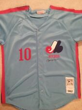 Andre Dawson signed Montreal Expos Autographed Jersey (HOF)