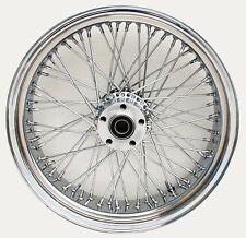 "Ultima Chrome Billet 60 Spoke 16"" x 3.5"" Rear Wheel for Harley Models 2000-Later"