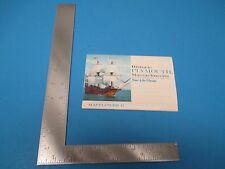 Vintage Historic Plymouth Massachusetts Home Of the Pilgrims Folding Cards S2170