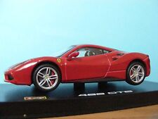 Ferrari 488 GTB in Red 1:43 rd Scale Licensed Burrago  Diecast Model