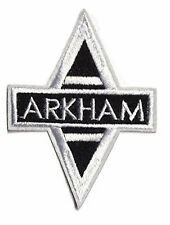 Batman Arkham Assylum Cutout Logo Crest Embroidered Patch