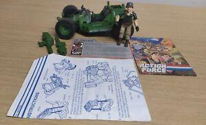 GI Joe Action Force AWE STRIKER CRANKCASE v1 Vintage Figure Hasbro jeep