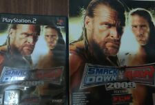 WWE SmackDown vs. Raw 2009 Featuring ECW Includes Signature Guide.  (PS2)
