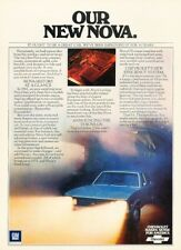 1975 Chevrolet Nova Original Advertisement Print Art Car Ad J948