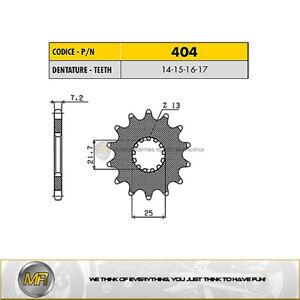 SUZUKI DL V-STROM 1000 >  2002 TO 2010 FRONT SPROCKET SUNSTAR 525 WITH 14 TEETH