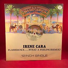 "Irene Cara Flashdance 1983 Reino Unido 12"" Single Vinilo Excelente Estado Un"