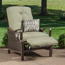 Olive Cushion Quality Outdoor Patio Recliner Chair Furniture Home Living Deck