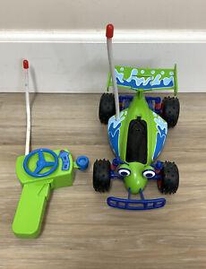 "Toy Story RC Wireless Remote Control Car Disney Pixar Thinkway Toys - 10"" Rare"