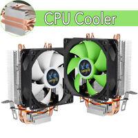 CPU Kühler Prozessor Lüfter Kupfer für  Intel LGA 775 1156 1155 AMD AM2 AMD3