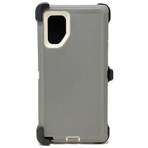 For Samsung Galaxy Note10 + Plus Case Shockproof Series Fits Defender Belt Clip