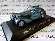 Voiture 1/43 IXO altaya Voitures d'autrefois : BUGATTI 57 SC Atlantic 1938