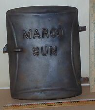 Vintage MARCO SUN Cast Iron Door - Decor - Steampunk - King Stove & Range Co