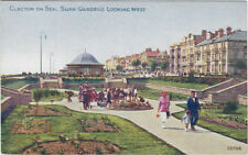 CLACTON-ON-SEA ( Essex) :Sunk Gardens,Looking West -PHOTOCHROM