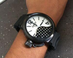 Italo Fontana Eclipse U-Boat Automatic Self-Winding Watch Swiss Waterproof 100M