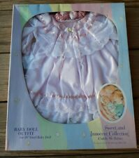 Cuddle Me Babies Sweet And Innocent Collection Baby Doll Dress Outfit D232 NIB