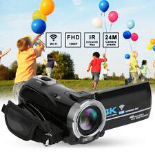 New 4K Camcorder HD Infrared Night Vision Digital Video Camera Wifi