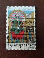 Sello España:800 Aniversario Fundación de Vitoria (Año 1981/ 12 ptas)