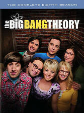 New Sealed The Big Bang Theory - The Complete Eighth Season DVD 8