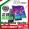 S27_SMARTPHONE SAMSUNG GALAXY NOTE 4 32GB SM-N910 12 MESI GAR.ITA! ORIGINALE 3 5