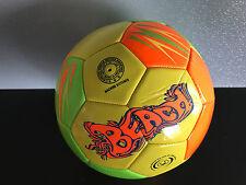 Brand New Buffalo Brand Padded Carbonium Pvc Fluro Size 5 Beach Soccer Ball
